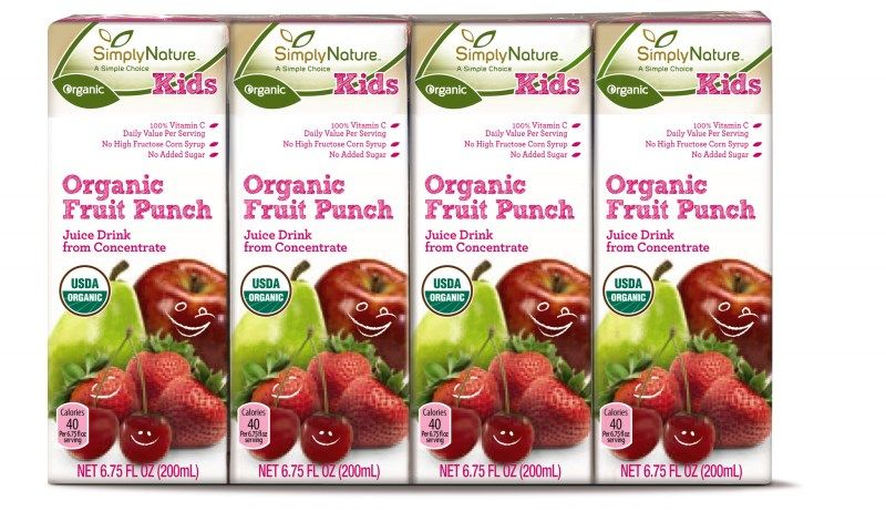 Simplynature Organic Juice Boxes Aldi Exclusive Simplynature
