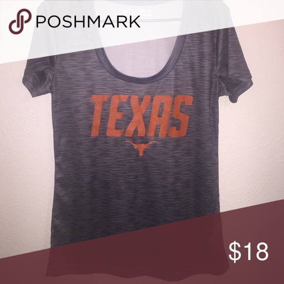 Texas Longhorns shirt Worn once for a few hours. Payed $28 dollars for it originally no offers please. Price is firm Tops Tees - Short Sleeve