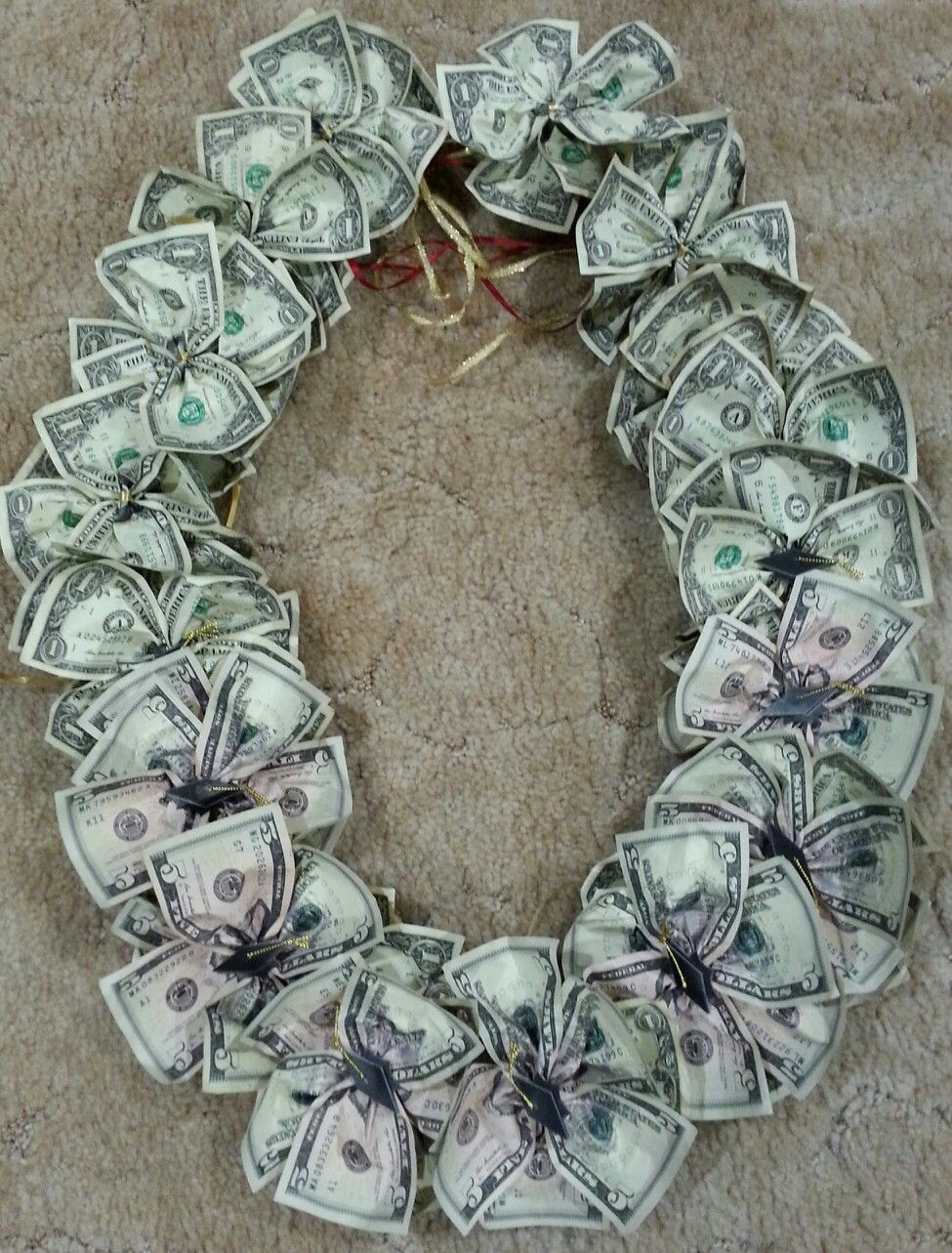 How To Make A Money Necklace : money, necklace, Graduation, Money, Gifts,, Creative