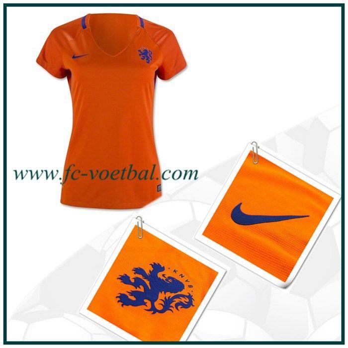 best cheap 076b4 f3468 Aanbieding Nederland Thuisshirt Vrouwen Oranje Nike 2016 2017