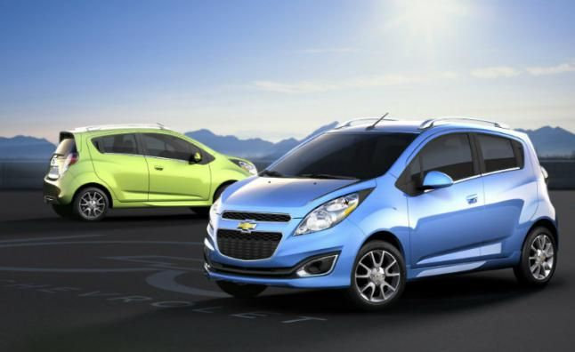 Chevy Bolt Offs The Spark Ev Chevrolet Spark Chevrolet 2013