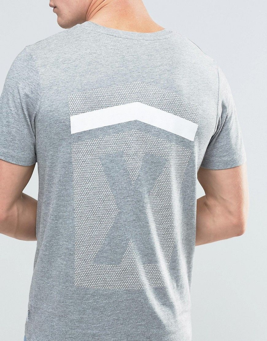 Image 3 of Jack & Jones T-Shirt with Reflective Logo and Back Print