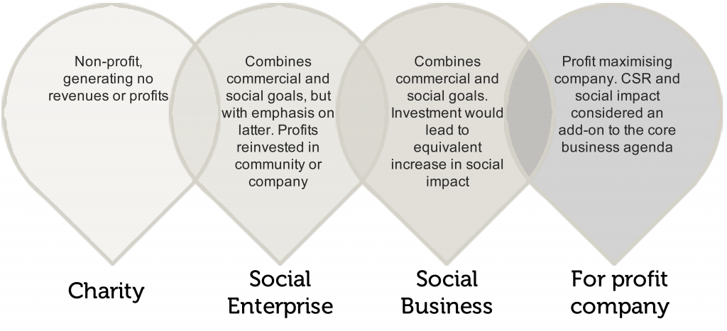 Socialbusinessdiagram  Enterpise    Social Enterprise