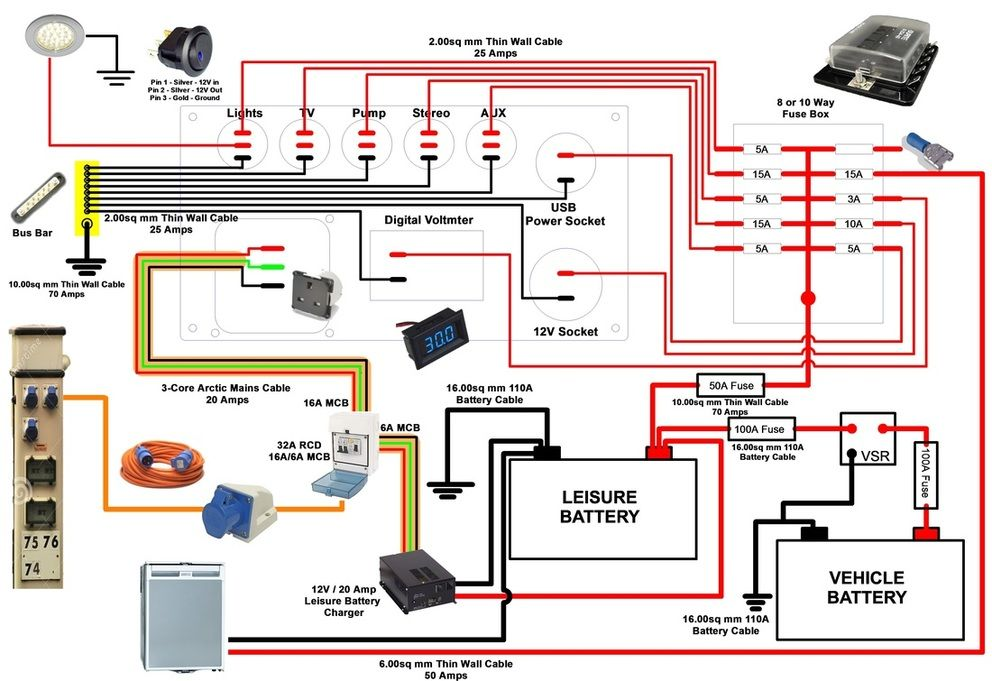 Amazing Power Converter Wiring Diagram Wiring Diagram Tutorial Wiring 101 Ferenstreekradiomeanderfmnl