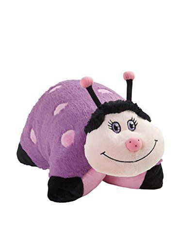 My Pillow Pet Lady Bug Large Pink And Purple 2015 Amazon Top