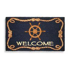 Ship Wheel Doormat