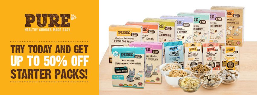 Fancy getting 50 off Pure Pet Food for all Healthy Pet