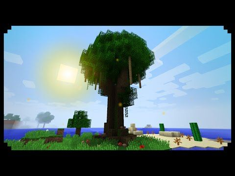 Minecraft How To Make Giant Trees Minecraft Tree Giant Tree