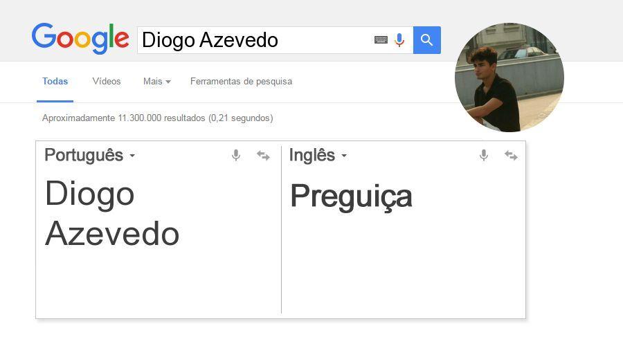 Essa é sua tradução, Diogo