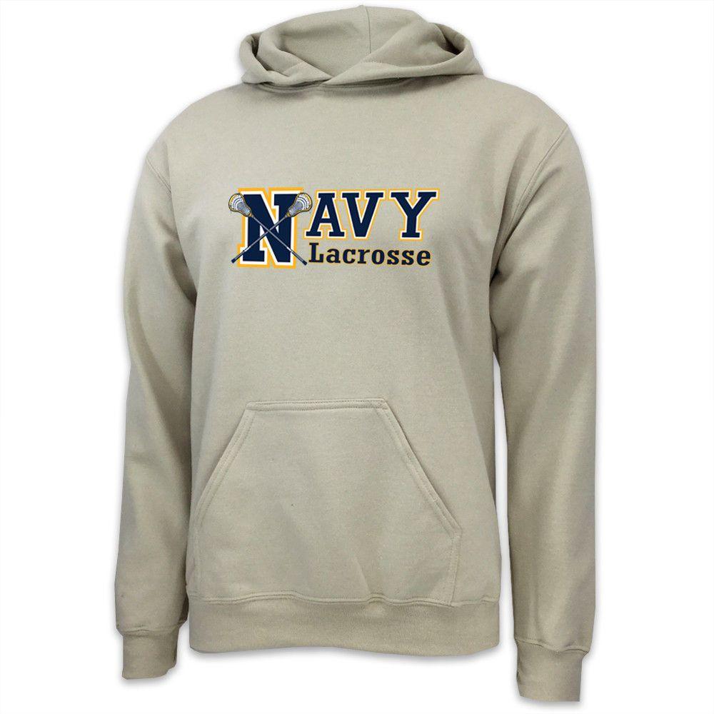 Navy lacrosse sport hood tan with images lacrosse
