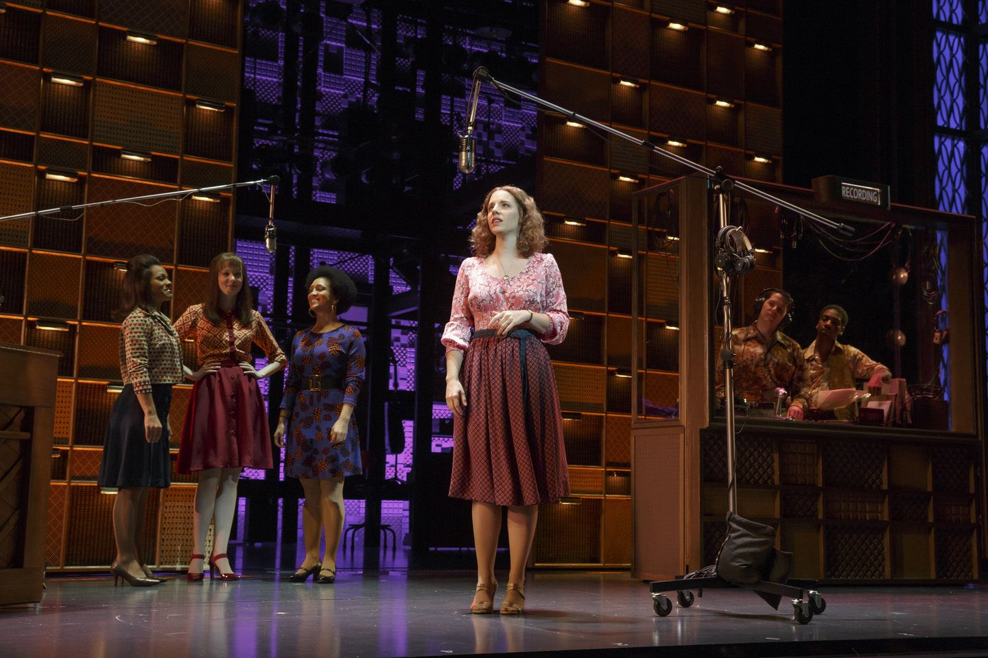 WIN: Lead actress, musical - Jessie Mueller; Sound design, musical | NOMINATED: Musical; Book of a musical - Douglas McGrath; Featured actor, musical - Jarrod Spector; Featured actress, musical - Anika Larsen; Orchestrations