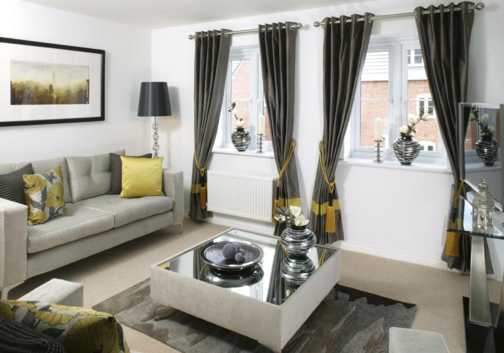 Barratt Homes - Bracken Gardens (Rugeley) Interior designed Living ...
