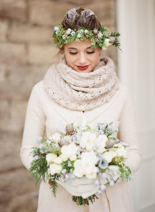 Winter Wedding Ideas Vintage 1