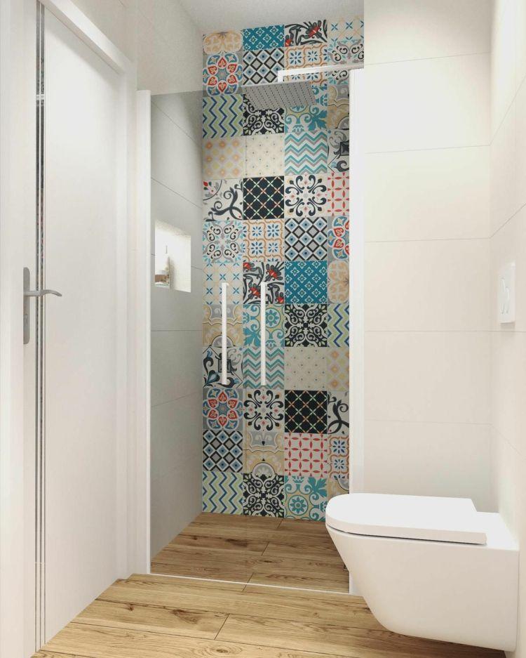So können Sie ein Gäste WC mit Dusche selbst bei wenig