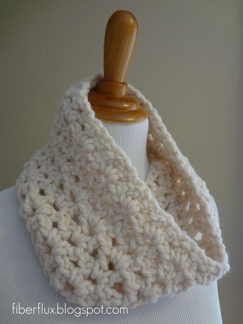 Fiber Flux...Adventures in Stitching: Free Crochet Pattern... Meringue Cowl