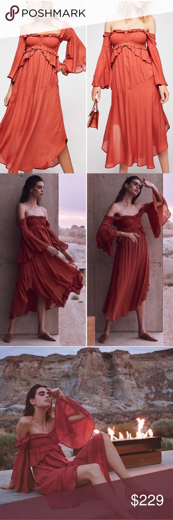 0dec5ab45b2f Spell & The Gypsy Florence Midi Dress Free People Florence Midi Dress  by Spell &