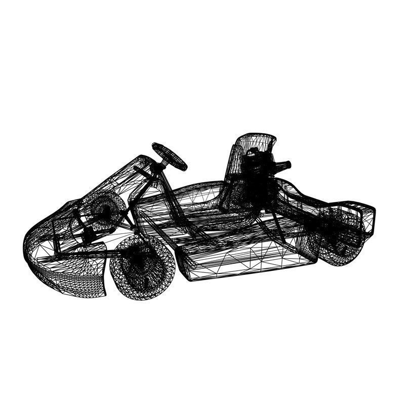 Cart Rigged || Share free 3D cad models #100033 Visit my