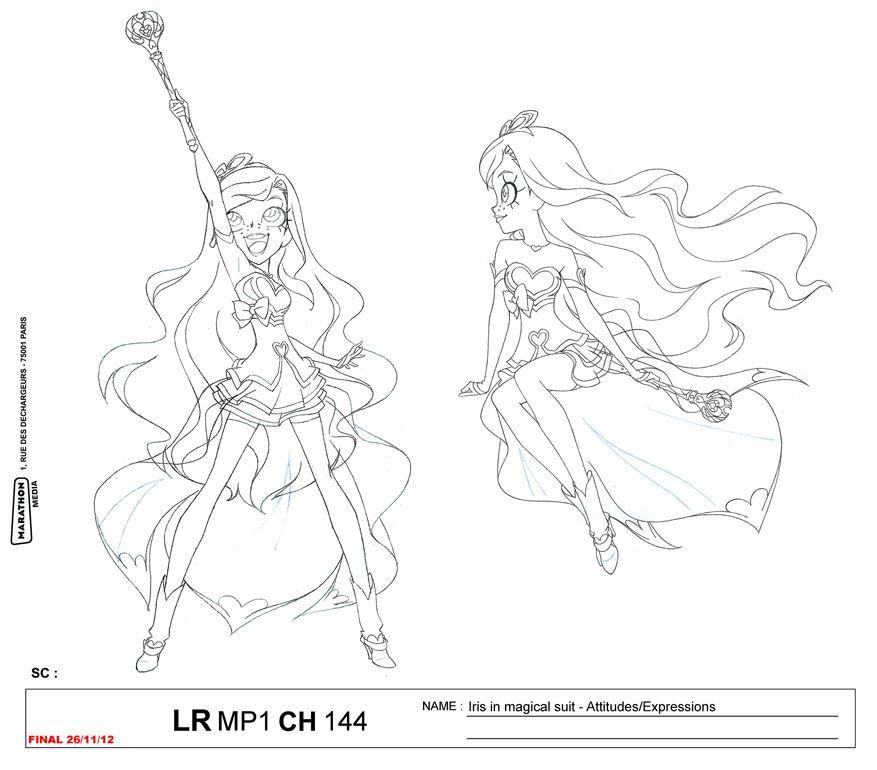 LoliRock: Iris Transformation Character Sheet | Muse art ...