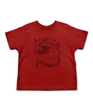 Loving this Red 'Murican Eagle' Tee - Toddler & Kids on #zulily! #zulilyfinds