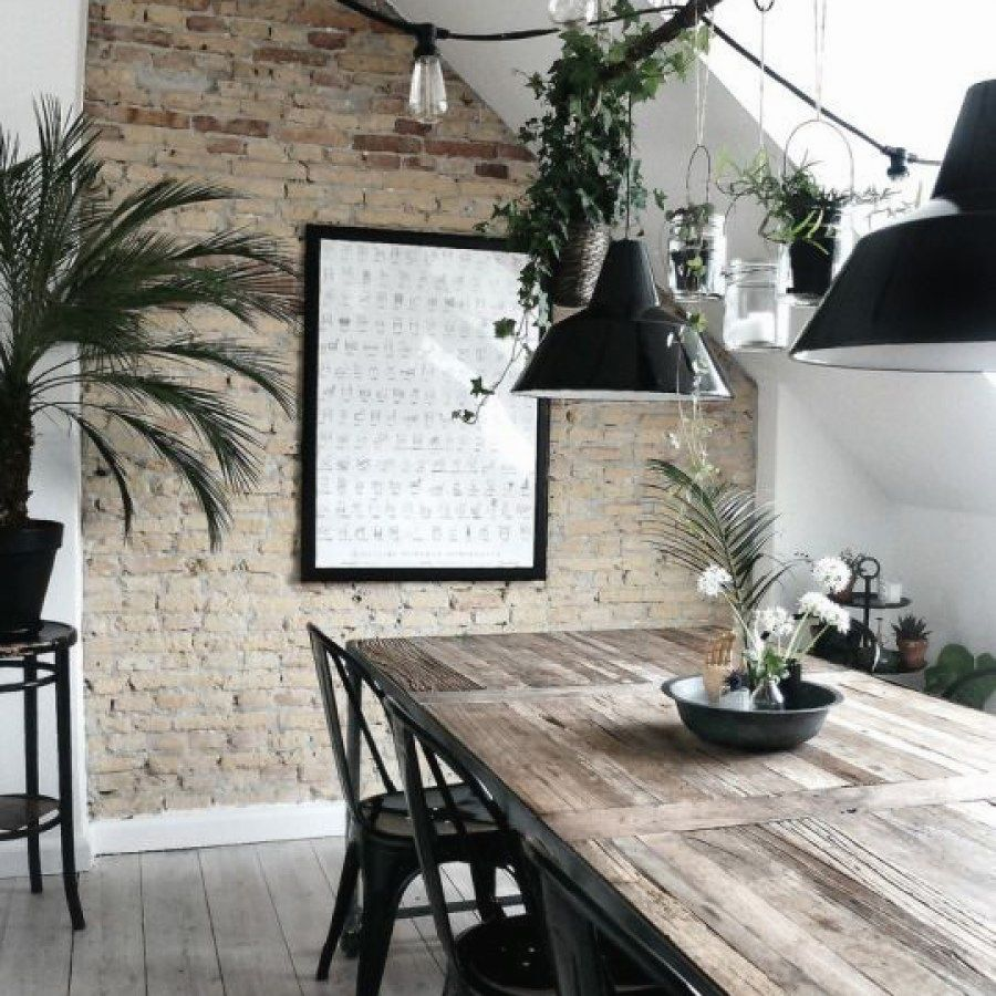 50 Bold And Inventive Dining Rooms With Brick Walls: Industrial Decor Basics To Find The Look You Want