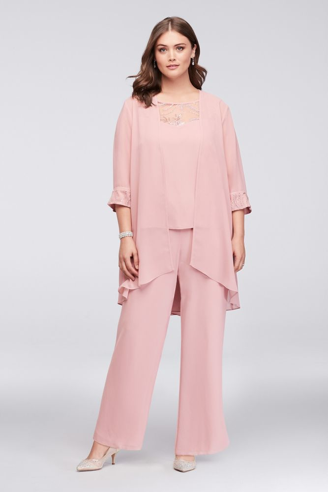 Womens Plus Size Pantsuits For Wedding