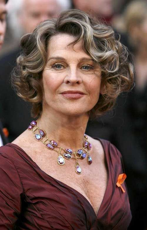 New Short Haircuts For Mature Women