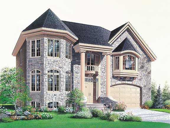 Chandlers Landing 4671 4 Bedrooms And 4 5 Baths The House Designers Craftsman Style House Plans Monster House Plans New House Plans