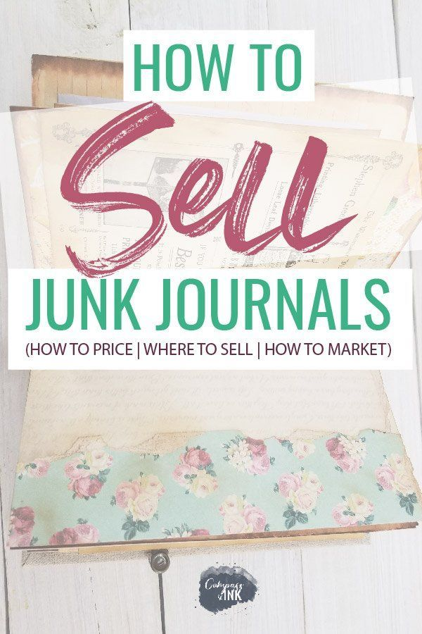 How to Sell Junk Journals #craftstosell