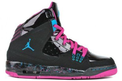 34cdda6ec5877 NIKE GIRLS JORDAN SC-1 £110 (6, BLACK/ PINK): Amazon.co.uk: Shoes ...