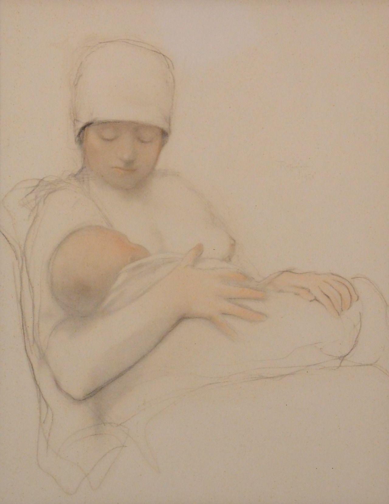 19 ARMAND RASSENFOSSE (1862-1934) - Maternité.jpg