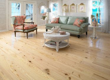 Clover Lea 3 4 X 5 Natural Heart Pine Pine Floors Home Heart Pine Flooring