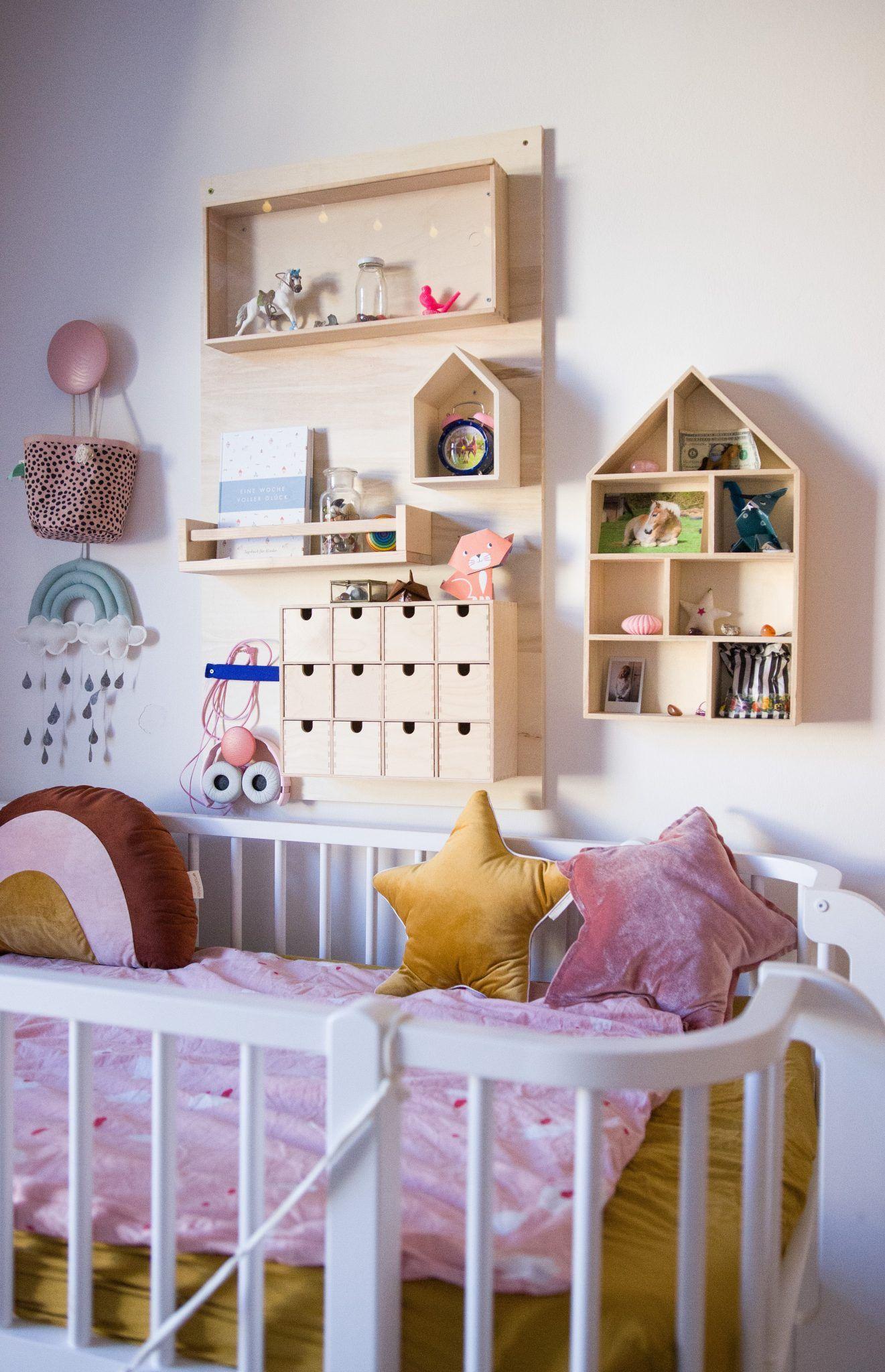 Alles hat einen Platz ein DIY Utensilo fürs Kinderzimmer