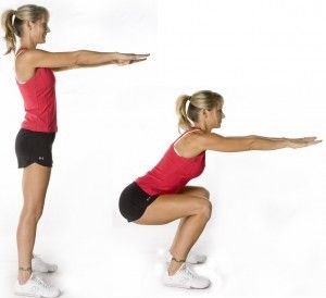 Tribesports Challenge #1 - 25 squats a day for 7 days.  Three days down already...ready to up my number.