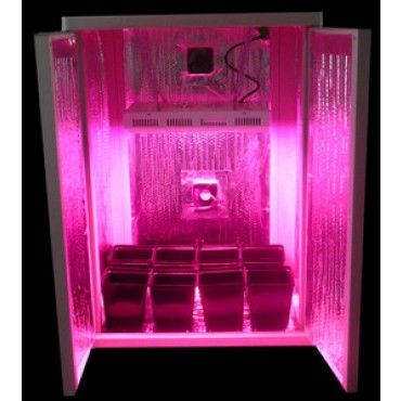 the sea of green is a led grow box that grow hydroponic plants this grow box retails at dealzer. Black Bedroom Furniture Sets. Home Design Ideas