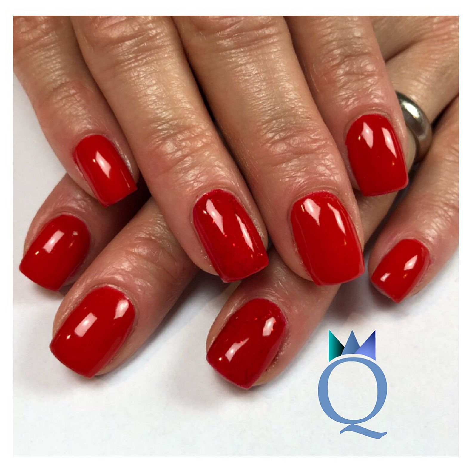 Fesselnde Nageldesign Rot Dekoration Von #shortnails #gelnails #nails #red #kurzenägel #gelnägel #nägel
