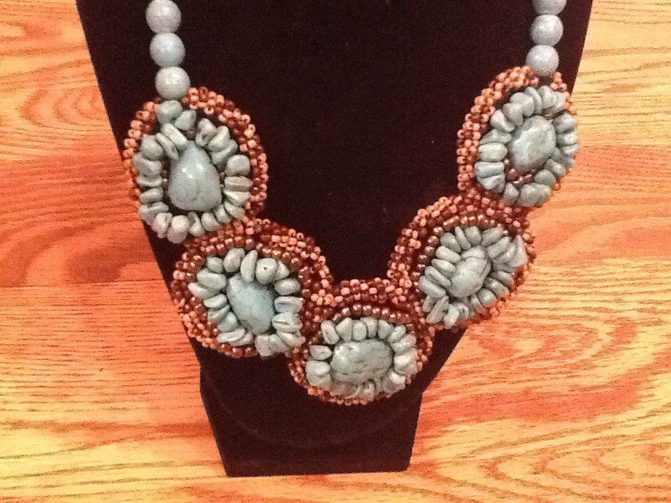 A personal favorite from my Etsy shop https://www.etsy.com/listing/224935653/special-new-shop-2014-chunkyturquoise