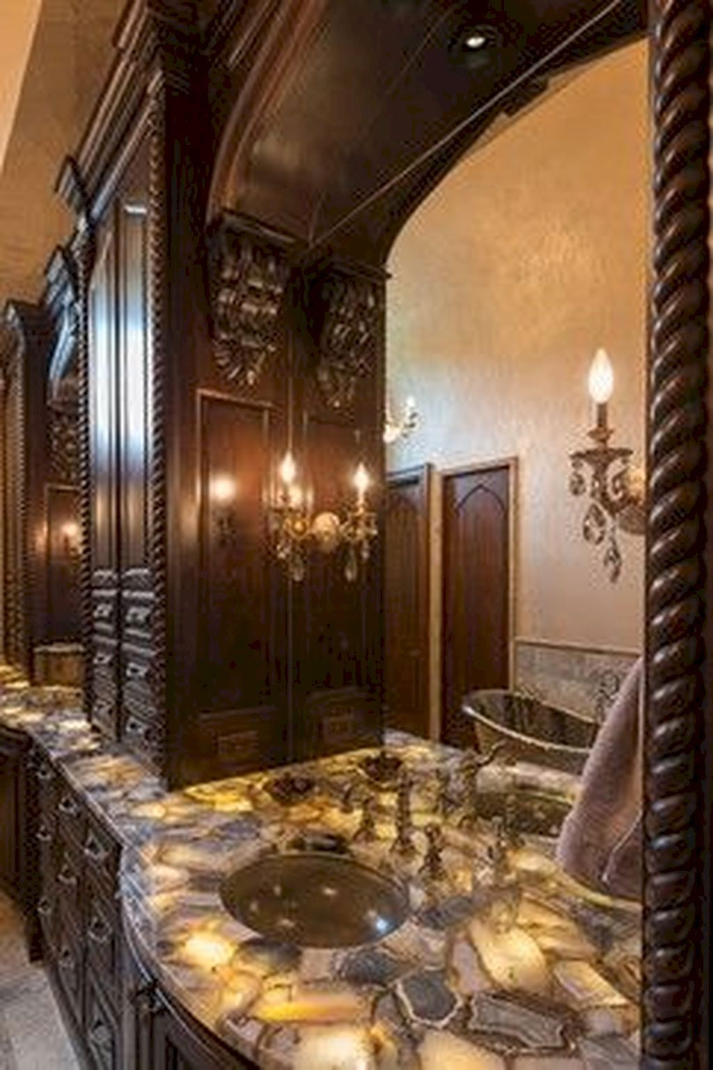 Gorgeous And Glamorous Bathroom Decoration Ideas With Images