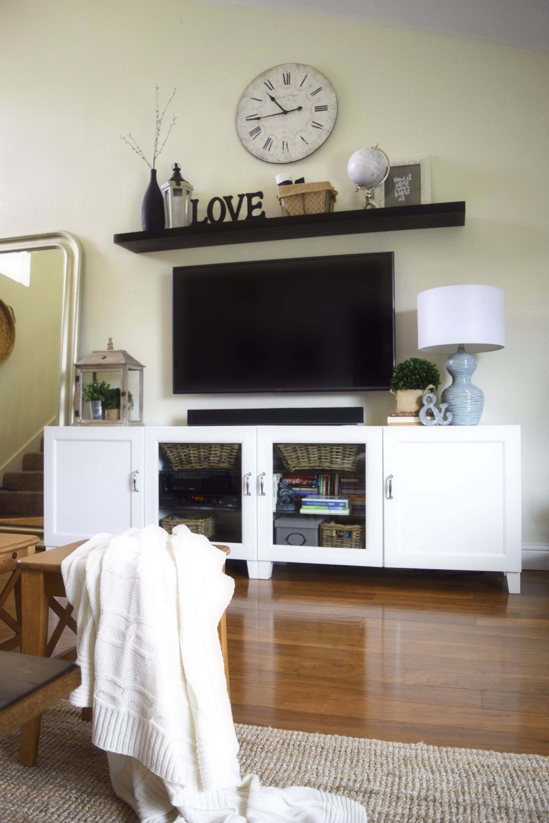 11 diy projects for your living room tv walls tvs and walls