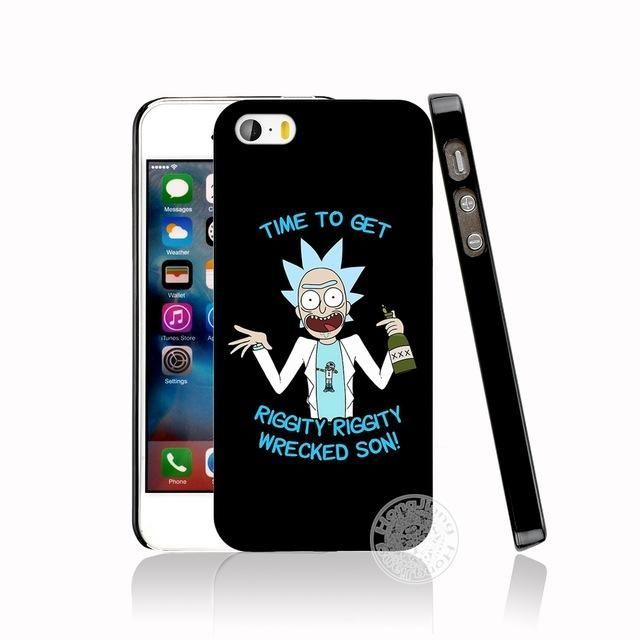 watch bb452 6def3 Rick and Morty cell phone Cover case for iphone 6 4 4s 5 5s SE 5c 6 ...