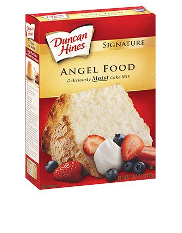 Signature Angel Food Cake Mix For To Remember Add 2t Flour For
