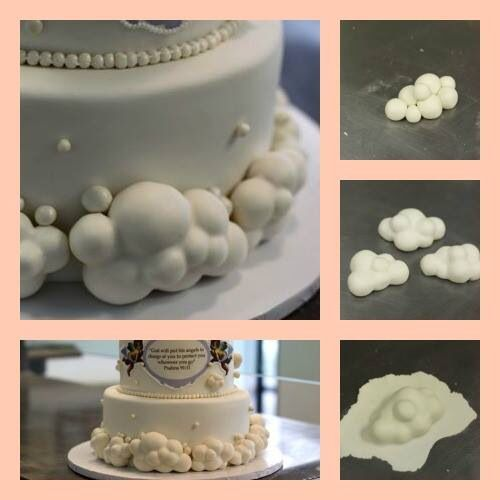 How To Make Fondant 3d Clouds Cake Decorating Ideas And Techniques