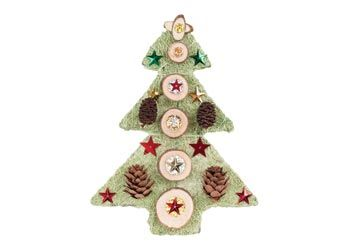 Decorate your own Christmas tree ornaments with natural embellishments!