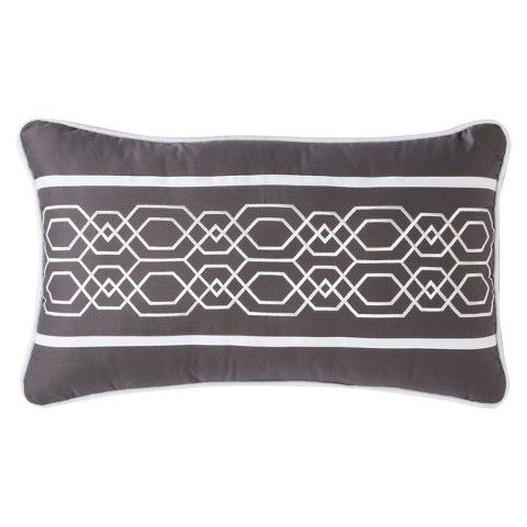 Fieldcrest Luxury Embroidery Decorative Pillow For The Home Magnificent Fieldcrest Decorative Pillows