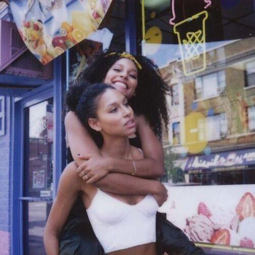 Ebony lesbians ride face