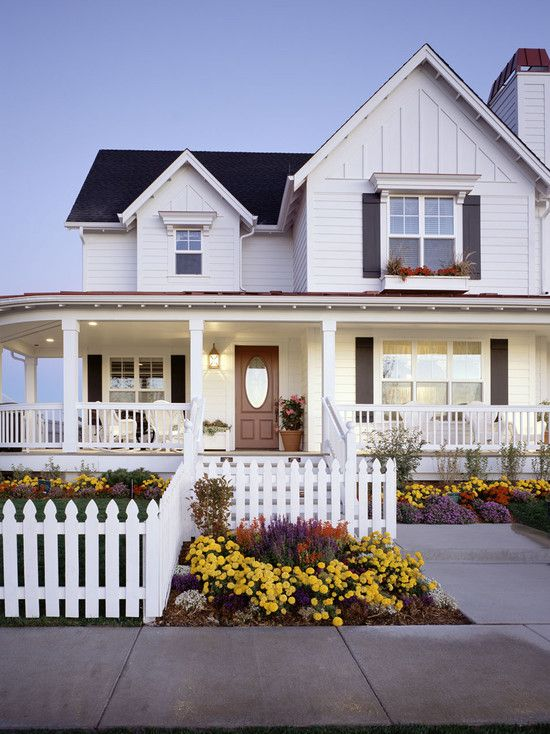 White Farmhouse Design, Pictures, Remodel, Decor and Ideas - page 4