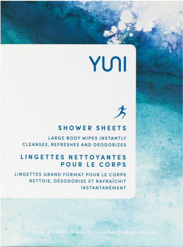 I use these when I backpack/camp and they're the best!   No time? No shower? No problem! With the YUNI Shower Sheets Large Body Wipes, you can freshen up on-the-go. A 12 pack of large, individually-wrapped, soft, waterless Shower Sheets that instantly cleanse, refresh, and deodorize.