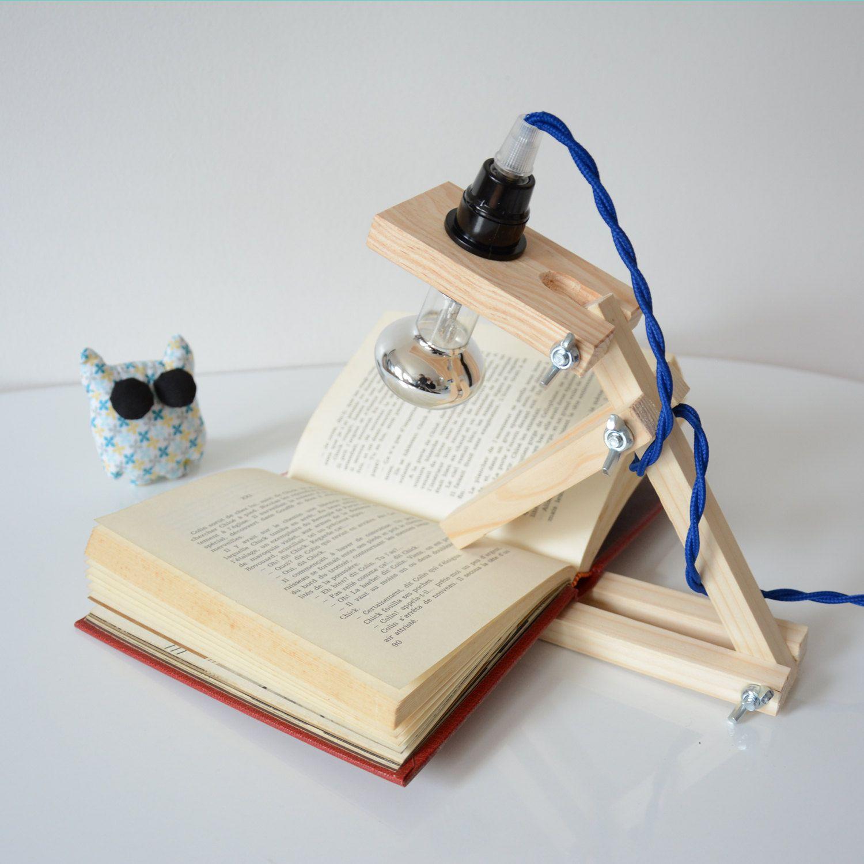 Lampe minimaliste en forme de chien en bois pour chambre d