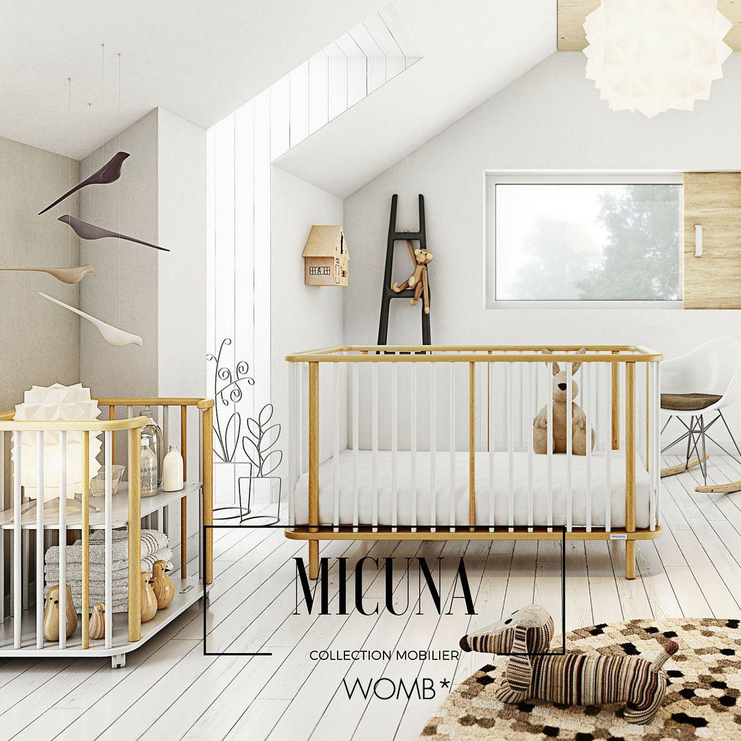 Ce lit Life Concept de la marque Micuna allie charme et design ...