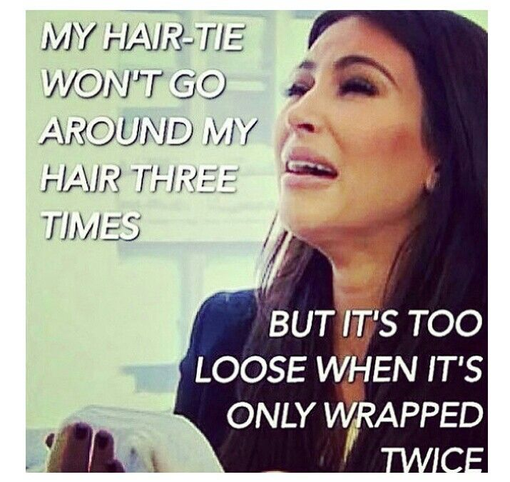 Long hair jokes (With images)   Beauty memes, Awkward ...