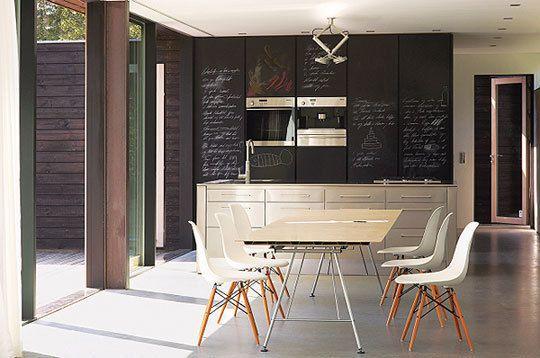 10 Uses For Chalkboard Walls & Chalkboard Paint  More Blackboards Mesmerizing Kitchen Blackboard 2018